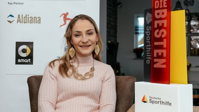 """Kristina Vogel ist """"Die Beste 2018"""""""