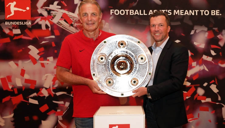 Bundesliga International und Eintracht Frankfurt in Abu Dhabi