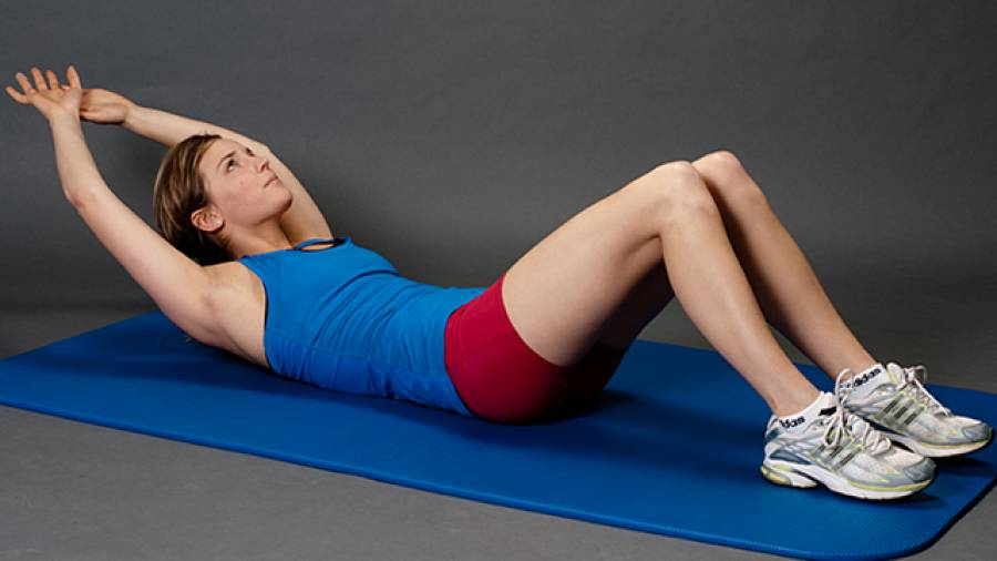 Bauchmuskeltraining mit Jasmin Schornberg – Teil 1