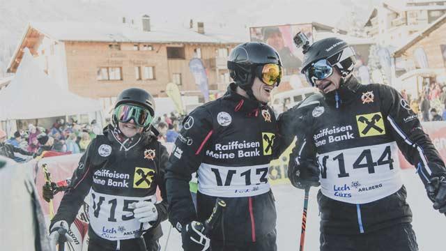 Legendärstes Skirennen der Welt: 70.000 Euro für die Laureus Stiftung