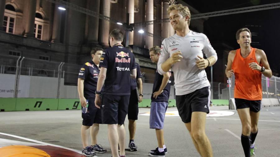 Fit wie ein Formel 1-Star – Das Nico Rosberg-Workout