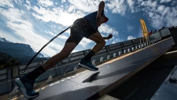 Schanze hoch: Weltrekord auf spezieller Sohle
