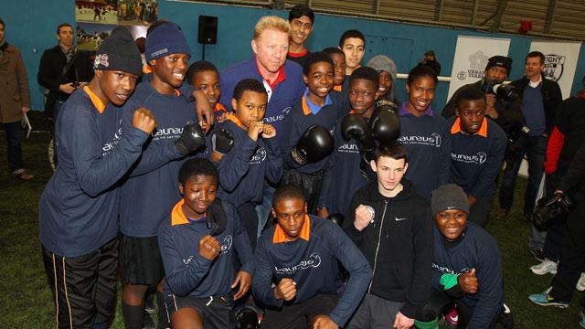 ?Laureus Youth Sports Festival in London