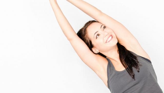 Yoga Übungen für Anfänger – Halbmond