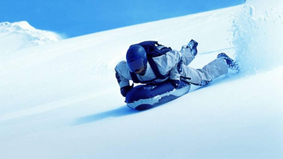 Trendsportart Airboarding – Mit 100 km/h über den Schnee