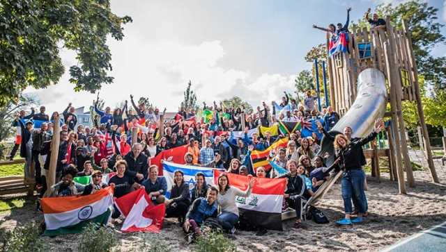 Laureus: Besuch der Bewegungsanlage in Sinsheim