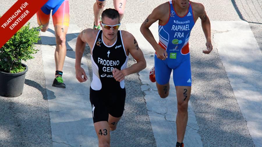Triathlon für Einsteiger - Das richtige Tempo finden