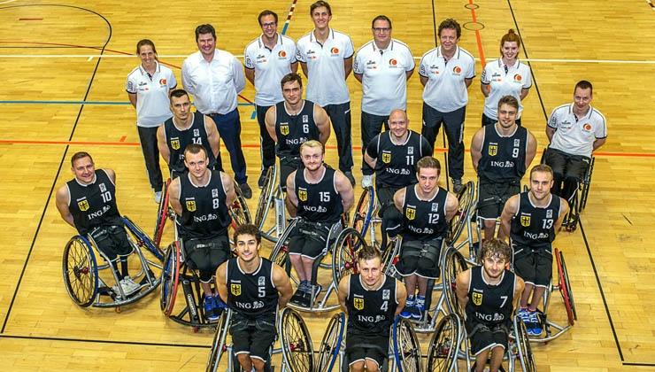 Rollstuhlbasketballer kämpfen bei der EM um das Tokio-Ticket