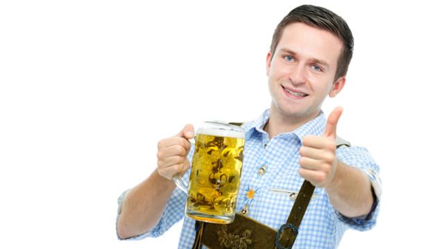 Feuchter Stimmungsmacher - Bier macht glücklich