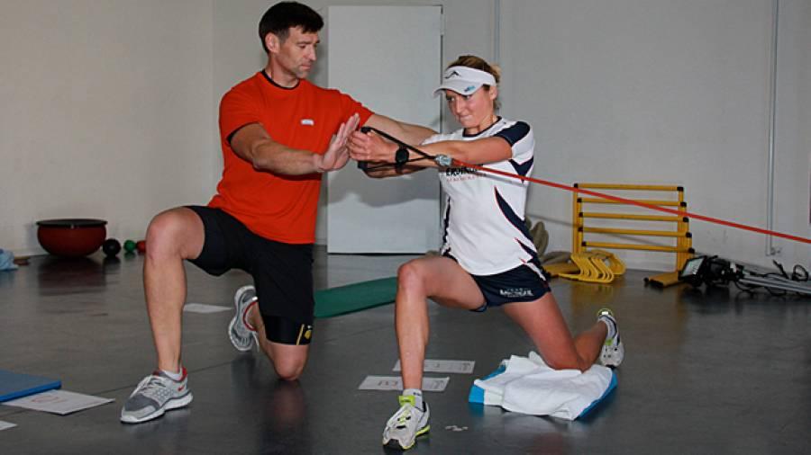 Athletik-Zirkel für Läufer