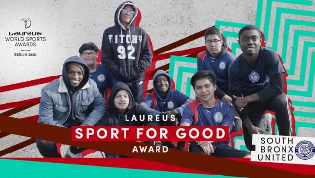 Laureus 2020: SOUTH BRONX UNITED ausgezeichnet