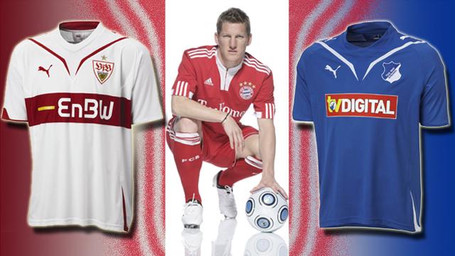 Kleider machen Spieler – Die neuen Trikots der Fußball-Bundesliga