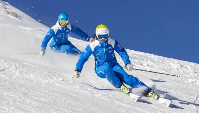 Sicher Skifahren: Augen auf beim Abfahrtslauf