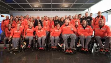 Alle deutschen Paralympics-Athleten unterstützt
