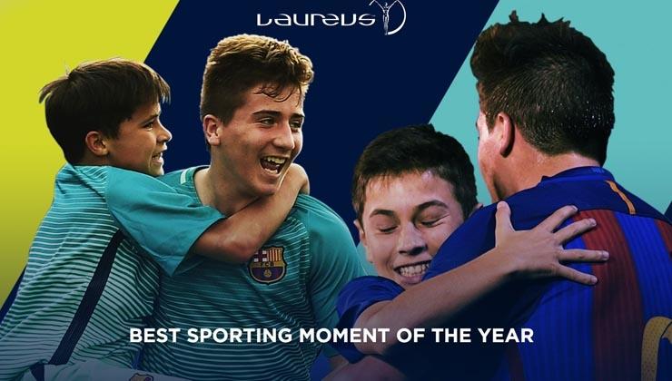 Wählt den Best Sporting Moment of the Year
