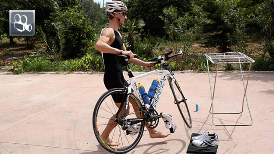 Triathlon: Wechseltraining mit Sven Bergner