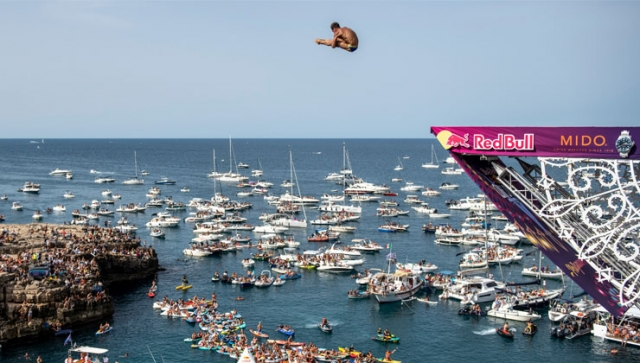 Hunt und Iffland in Italien zu Cliffdiving-Champions gekrönt