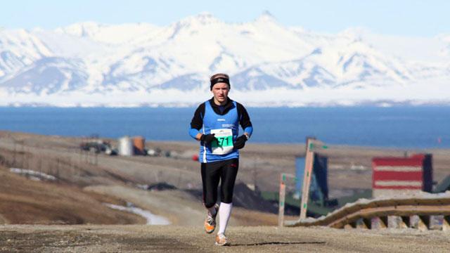 Hoch hinaus – Spitzbergen, der nördlichste Marathon der Welt