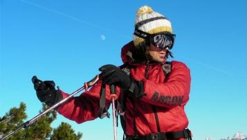Wie misst man die Hangneigung beim Skitouren gehen?