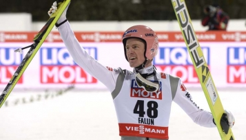 """Severin Freund ist """"Skisportler des Jahres 2015"""""""