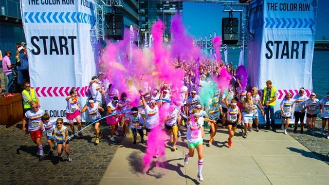 Bunte Geschichte – Der Color Run 2014