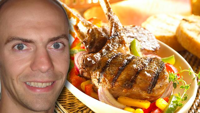 Marokkanische Lammkoteletts von Hans Mühlbauer