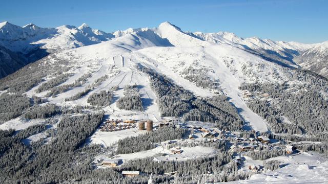 Der Katschberg – Skifahren auf der Autobahn