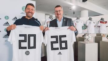 DFB verlängert Vertrag mit adidas bis 2026