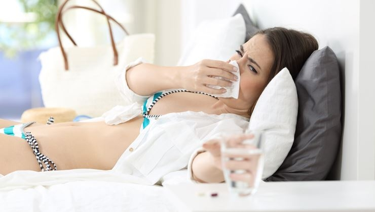 Freizeitkrankheit – Krank im Urlaub
