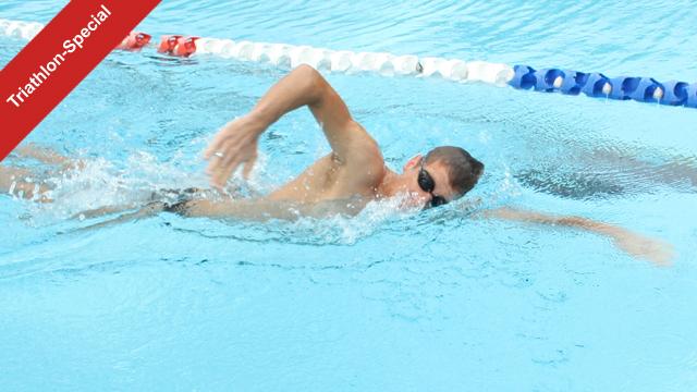 Kraftausdauer Schwimmtraining für Eisenmänner