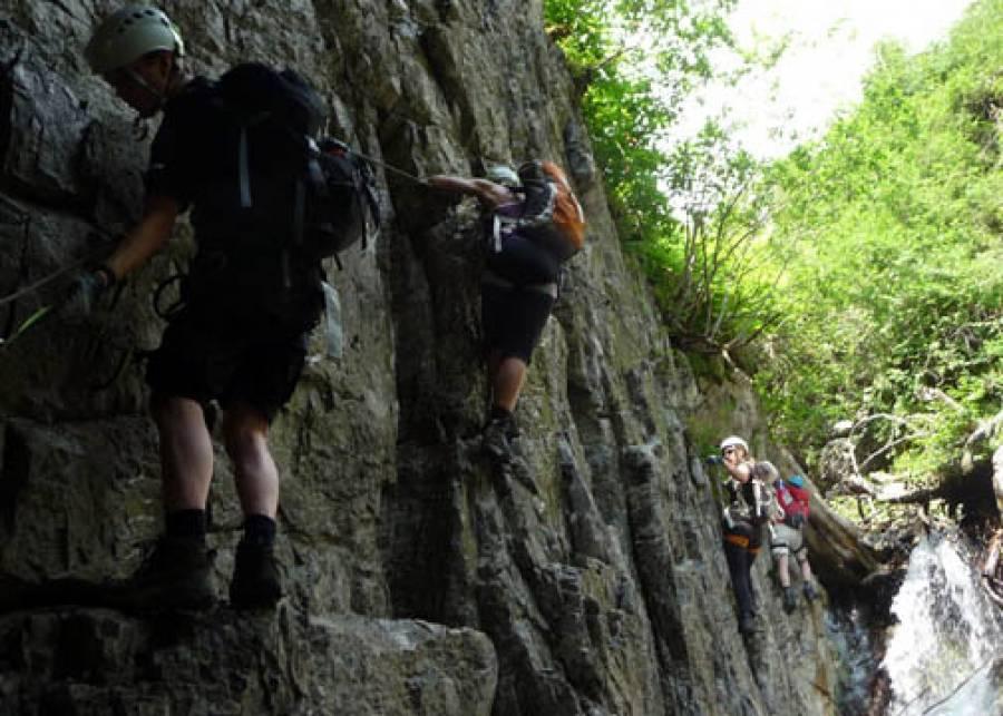 Klettersteigset Camp : Vaude klettersteig camp netzathleten