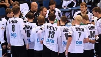 Olympia-Kader der Handballer und Spielplan