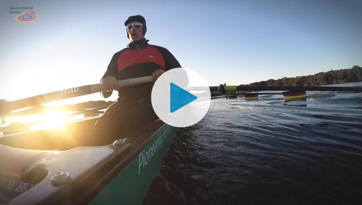Rudern im Kopf – Rio vor Augen: Der Deutschlandachter im Trainingslager