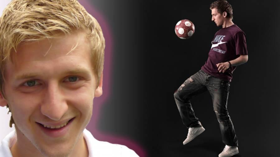 Fußball mit Marko Marin - Dribbelkönig stellt neue Homepage vor