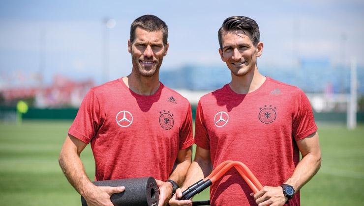 Dietrich und Kugel - Interview mit den Athletiktrainern der Nationalmannschaft