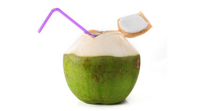 Natürlich: Kokoswasser ist ein ideales Sportgetränk