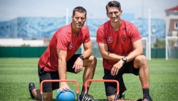 Fit wie die Mannschaft – Trainingsbuch der Weltmeister