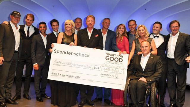 600.000 Euro für langfristige Unterstützung der Laureus Projekte