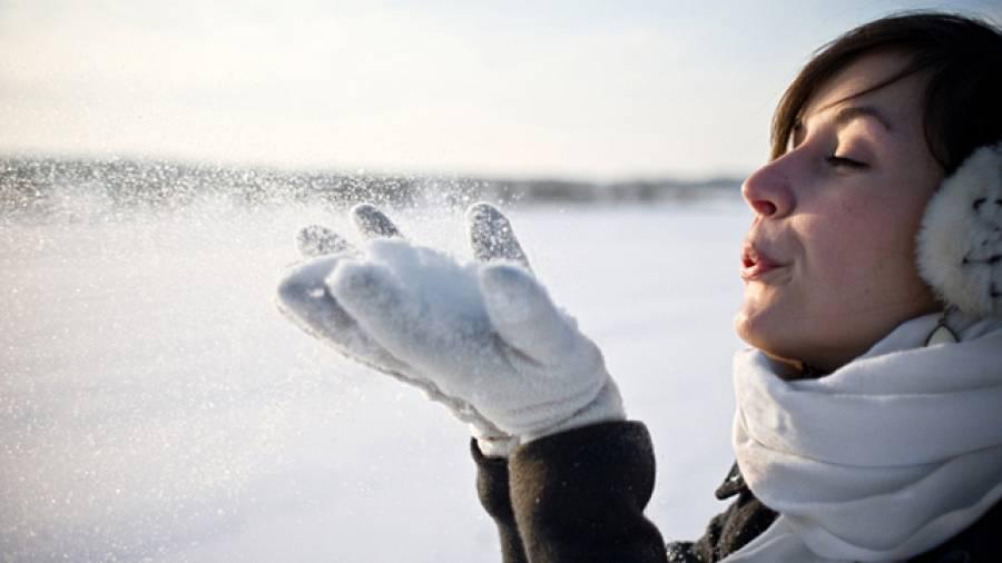 Aufgeblasen im Schnee– Warum entsteht Lippenherpes im Winter