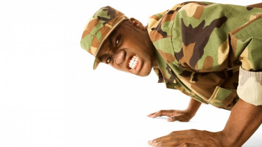 Workout: Fit wie ein US-Marine