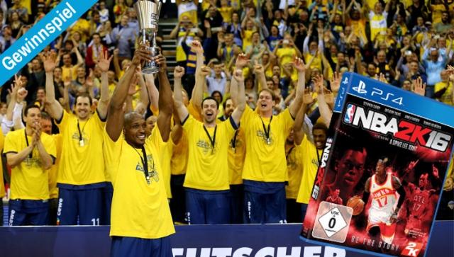 Gewinnspiel – Tickets für BBL Pokalfinale und NBA 2K16 gewinnen