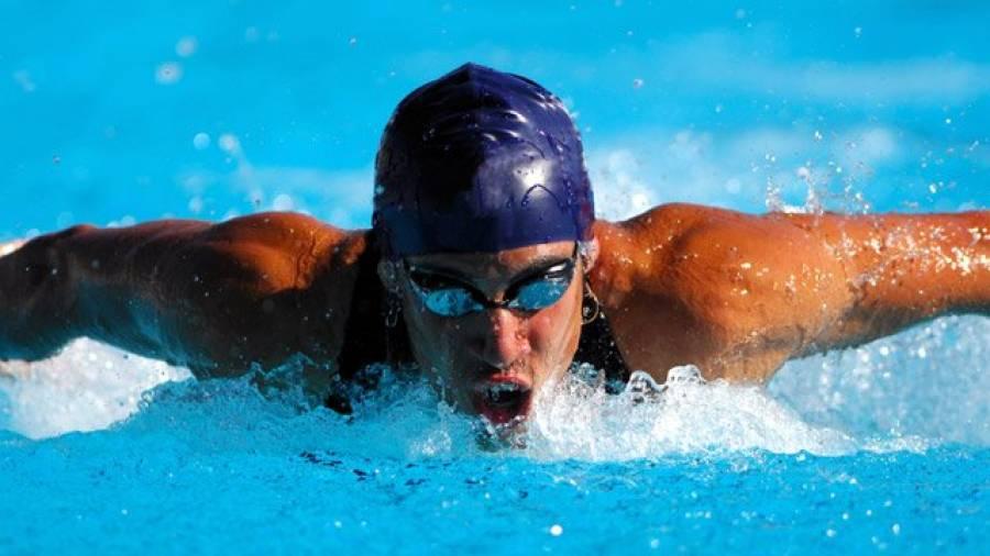 Schwimmen wie die Profis - die Rollwende