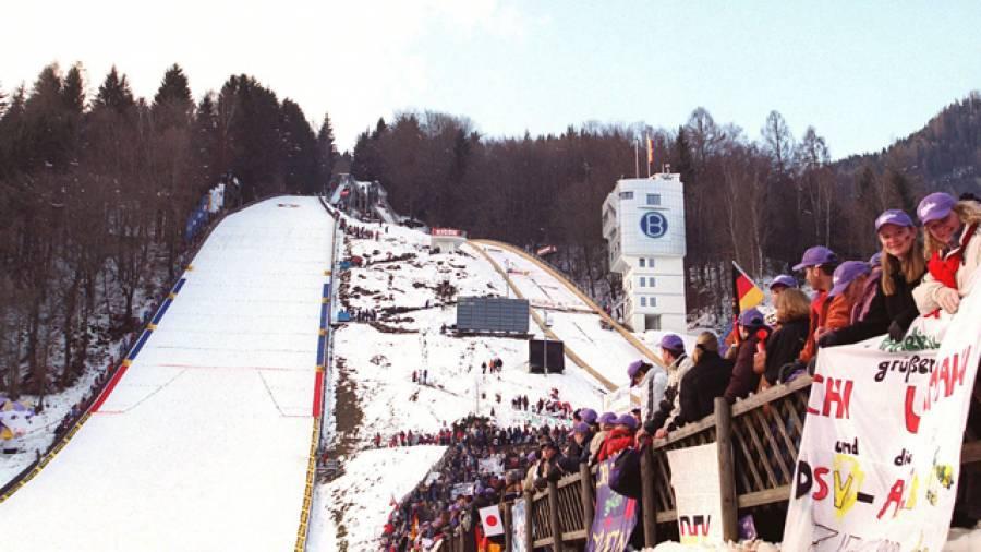 Anlage der Skisprunglegenden – Paul-Ausserleitner-Schanze Bischofshofen