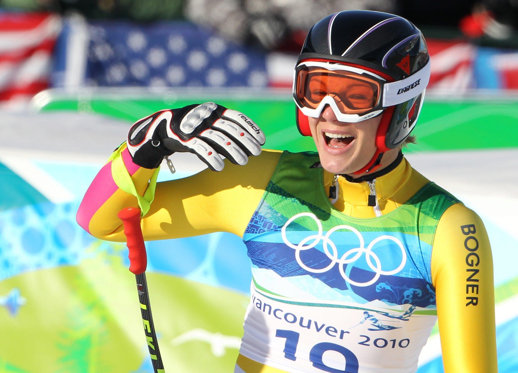 Maria Riesch fährt allen daVonn - Gold in der Kombination