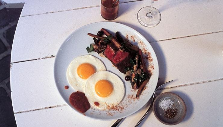 Steak und Eier – Die Kombination passt!