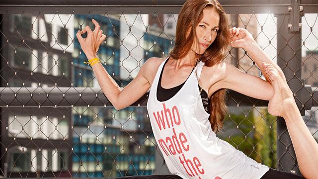 Yoga-Ikone Tara Stiles im Interview