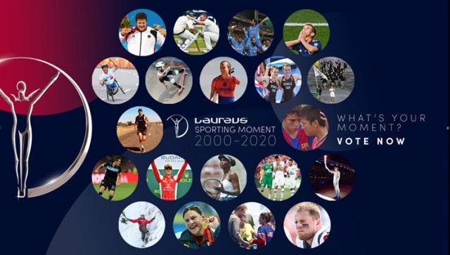Wählt den Laureus Sporting Moment 2000-2020