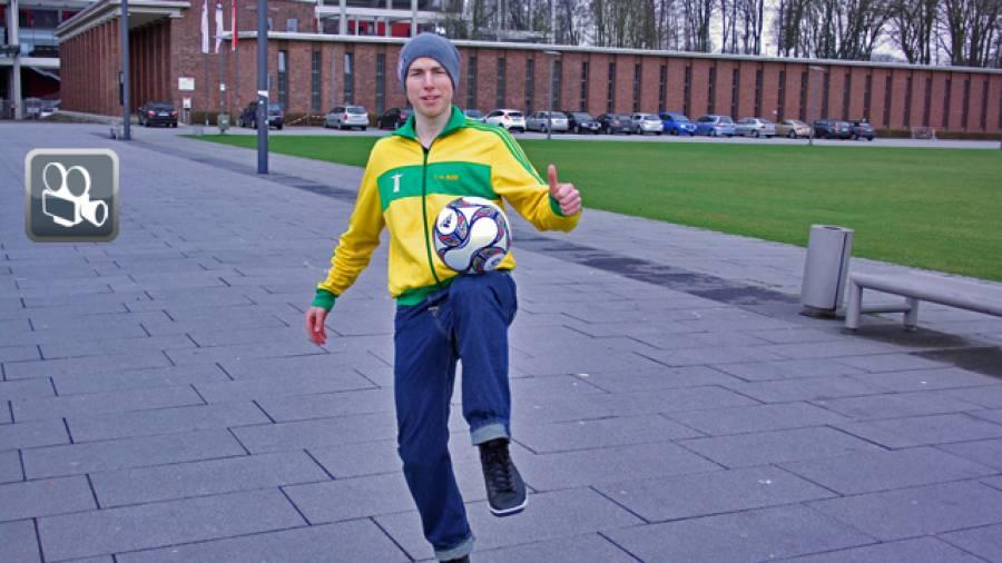Interview mit Freestyle-Fußballer Timo Löhnenbach