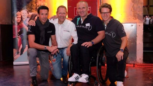Motorworld Group unterstützt Laureus