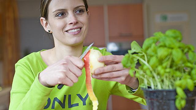 Soll man Obst und Gemüse schälen?